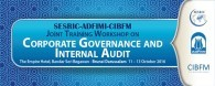 ADFIMI-CIBFM-SESRIC Joint Training Workshop on 'Corporate Governance and Internal Audit' The Empire Hotel, Brunei, 11-13 October 2016